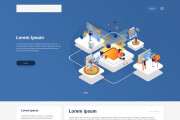 Дизайн блока Landing page 118 - kwork.ru