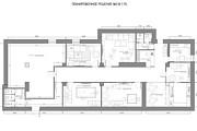 Планировочное решение вашего дома, квартиры, или офиса 96 - kwork.ru