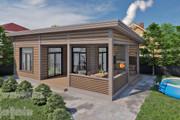 Фотореалистичная 3D визуализация экстерьера Вашего дома 208 - kwork.ru