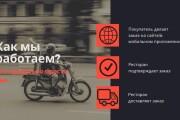 Стильный дизайн презентации 837 - kwork.ru