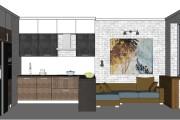 Дизайн-проект кухни. 3 варианта 38 - kwork.ru