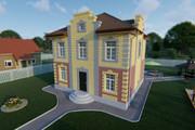 Фотореалистичная 3D визуализация экстерьера Вашего дома 368 - kwork.ru