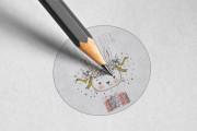 Я сделаю 2 минималистских дизайн логотипа 16 - kwork.ru