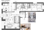 Разработка 3 вариантов планировки квартиры 41 - kwork.ru
