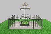 Ограды в 3 д по вашим размерам 22 - kwork.ru