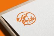 Создам строгий логотип в трех вариантах 52 - kwork.ru