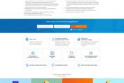 Дизайн Landing Page в PSD или Figma 34 - kwork.ru