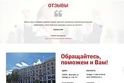 Лендинг для любых целей на Wordpress 169 - kwork.ru