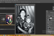 Реставрация фотографии, из чб в цветной, коррекция, восстановление 10 - kwork.ru