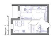 Планировка квартиры или жилого дома, перепланировка и визуализация 127 - kwork.ru