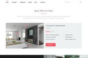 Wordpress сайт недвижимости, аренды квартир, агентства 8 - kwork.ru