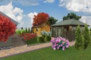 Проект ландшафтного дизайна участка 29 - kwork.ru