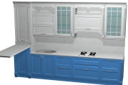 Проект корпусной мебели, кухни. Визуализация мебели 102 - kwork.ru