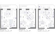 Планировка квартиры или жилого дома, перепланировка и визуализация 148 - kwork.ru