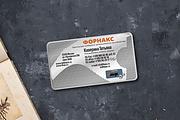 2 варианта визитки в исходнике 23 - kwork.ru