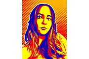 Качественный поп-арт портрет по вашей фотографии 84 - kwork.ru