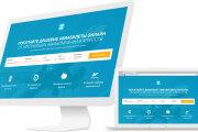 Разработаю Landing Page - одностраничный сайт визитка на CMS WordPress 14 - kwork.ru