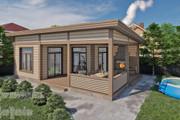 Фотореалистичная 3D визуализация экстерьера Вашего дома 207 - kwork.ru