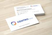 Дизайн визитки с исходниками 123 - kwork.ru