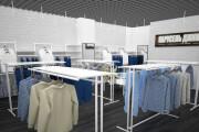 Визуализация торгового помещения, островка 59 - kwork.ru
