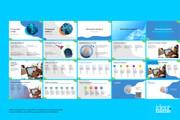 Концепт-дизайн, шаблон презентации 19 - kwork.ru