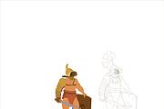 Нарисую исторического персонажа в векторе 13 - kwork.ru