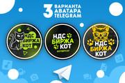 Оформление Telegram 64 - kwork.ru
