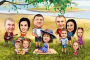 Шарж по фото 55 - kwork.ru