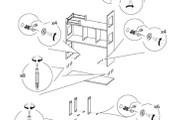 Схема, инструкция сборки мебели 55 - kwork.ru
