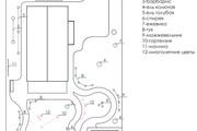 Проект ландшафтного дизайна участка 34 - kwork.ru