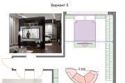 Планировочные решения. Планировка с мебелью и перепланировка 153 - kwork.ru