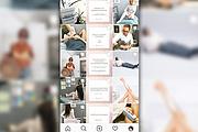 Стильно оформлю Instagram-аккаунт 10 - kwork.ru