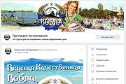 Оформлю группу ВК - обложка, баннер, аватар, установка 109 - kwork.ru