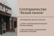 Стильный дизайн презентации 634 - kwork.ru