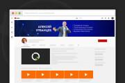 Сделаю оформление канала YouTube 120 - kwork.ru