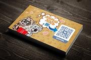 Дизайн визитки, файл исходник +папка со всеми доп. материалами 25 - kwork.ru
