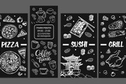 Дизайн рекламной наклейки на стекло, витрину 47 - kwork.ru