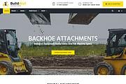 BuildWall - Шаблон сайта строительной компании на WordPress 13 - kwork.ru