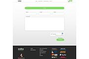 Адаптивная верстка сайта по дизайн макету 61 - kwork.ru