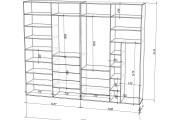 Проект корпусной мебели, кухни. Визуализация мебели 104 - kwork.ru