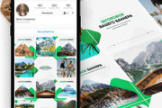 30000 шаблонов для Инстаграм, 5000 рекламных баннеров + много Бонусов 66 - kwork.ru