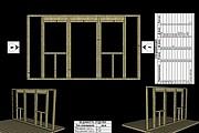 Сделаю 3D проект каркасного дома 18 - kwork.ru