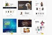 ПАК 1000 шаблонов и дополнений для WordPress 125 - kwork.ru