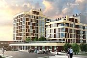 3D визуализация - многоквартирный дом, жилой комплекс 6 - kwork.ru