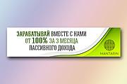 Сделаю баннер для сайта 119 - kwork.ru