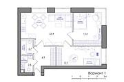 Планировка квартиры или жилого дома, перепланировка и визуализация 123 - kwork.ru