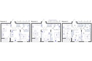 Планировка квартиры или жилого дома, перепланировка и визуализация 151 - kwork.ru