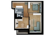3Д план квартиры или дома 11 - kwork.ru