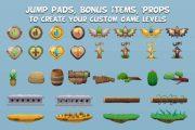 Готовые 2D Assets для Unity, 2D Анимации 22 - kwork.ru