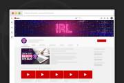 Сделаю оформление канала YouTube 108 - kwork.ru